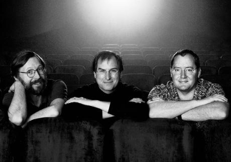 Ed Catmull, Steve Jobs og John Lasseter