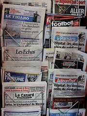 Franske aviser
